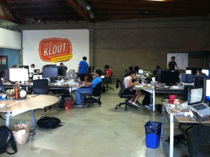 Klout office