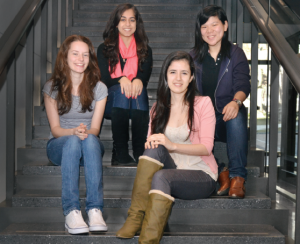 by Sneha K., M&T Class of 2015 (pictured with fellow WiCS board members, 2nd from left)