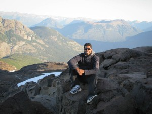 Ulhas in Bariloche